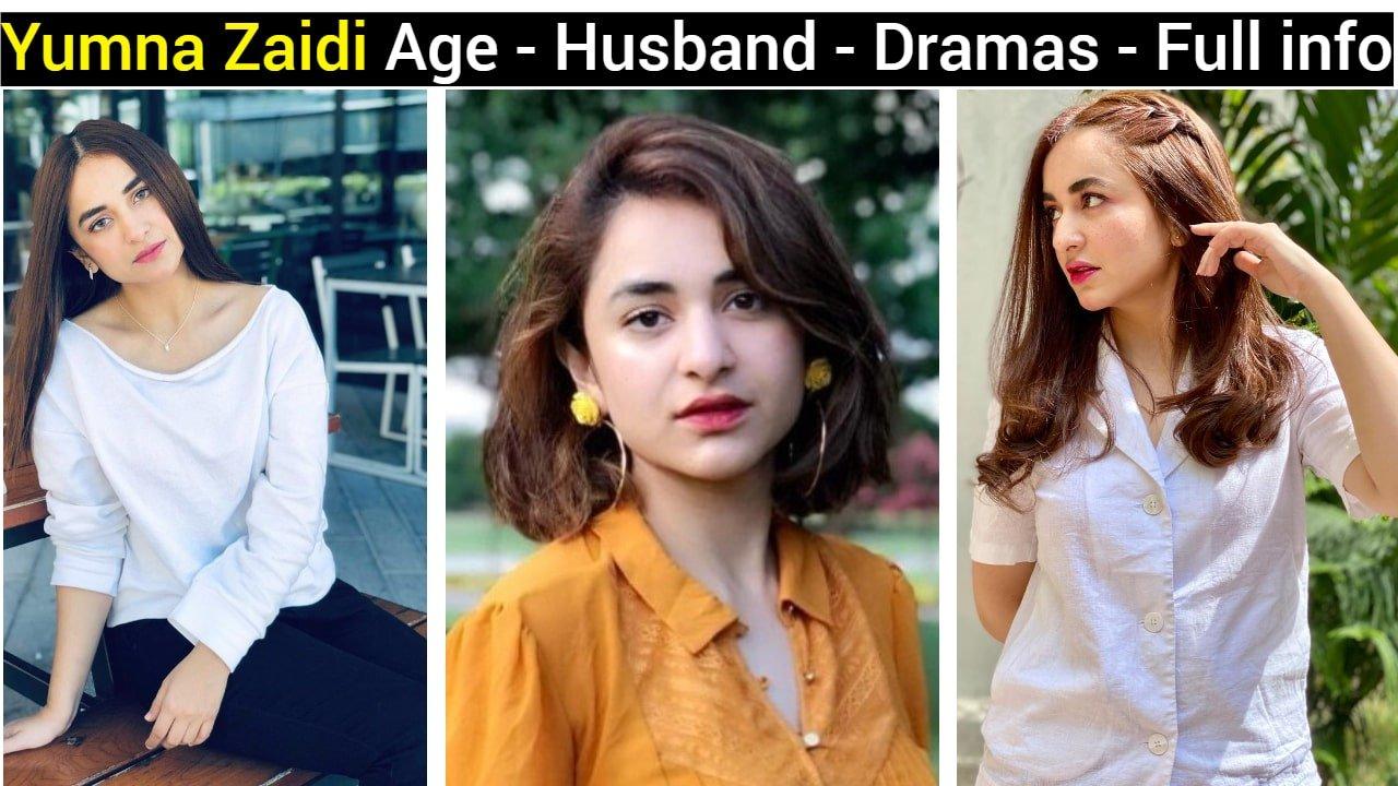 Yumna Zaidi Age - Husband - Dramas - Family - TV Shows